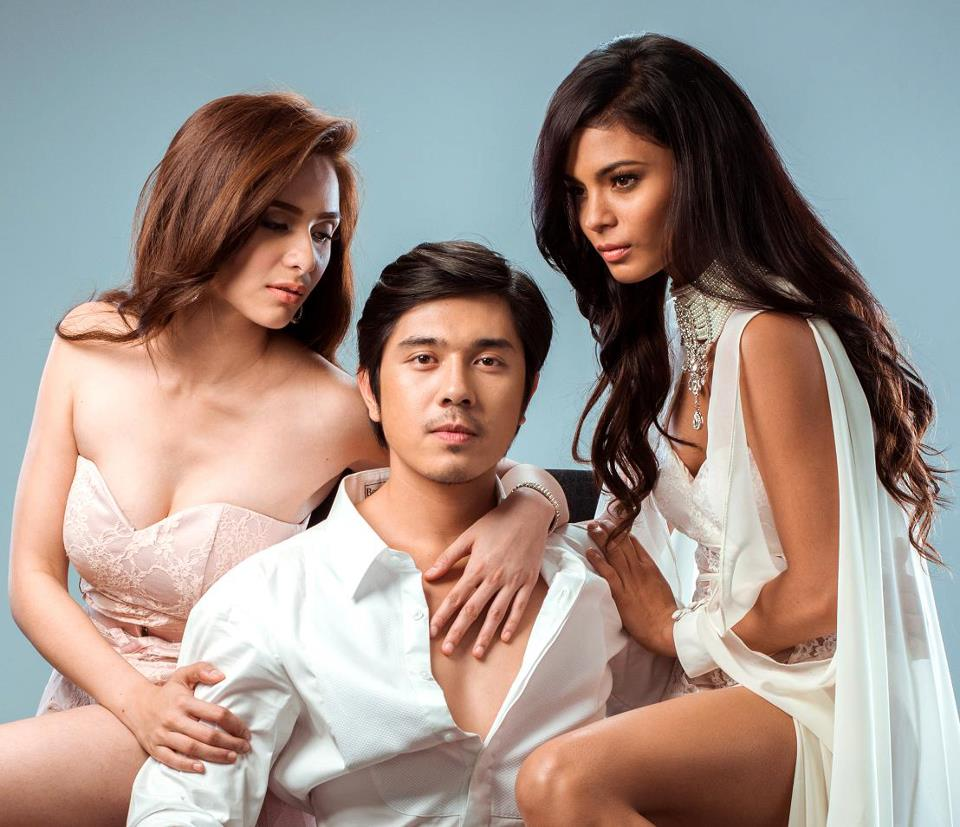 'The Bride and the Lover' lead stars Jennylyn Mercado, Paulo Avelino and Lovi Poe