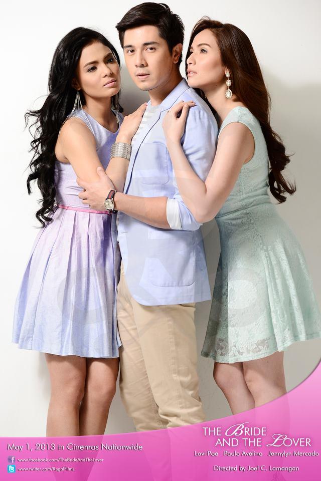 Lovi Poe, Paulo Avelino and Jennylyn Mercado