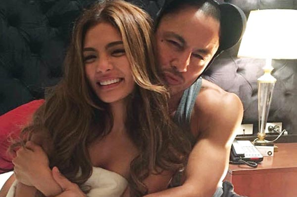 BTS: Lovi Poe and Derek Ramsay in The Escort